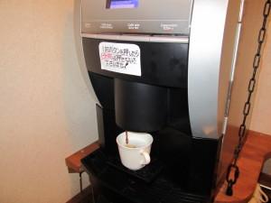 無料のコーヒーサービス
