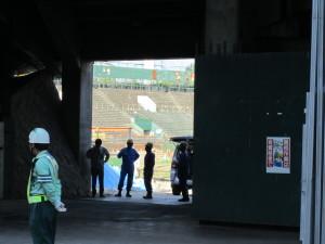 解体中?の広島市民球場