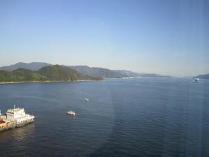 「グランドプリンスホテル広島」さんの部屋からの眺め