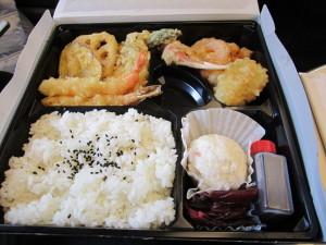 はげ天の天ぷら弁当