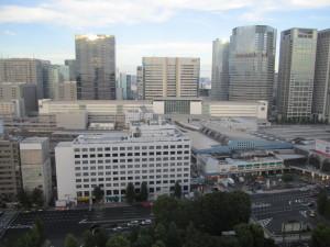 京急EXイン品川駅前さんの客室からの眺め