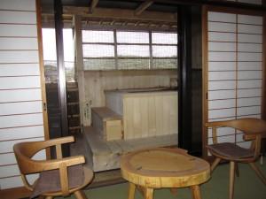 旅館「飛騨亭 花扇」さんの部屋風呂