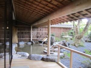 旅館「飛騨亭 花扇」さんの大浴場