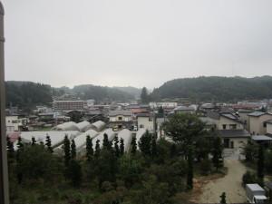旅館「飛騨亭 花扇」さんからの眺望