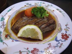 花巻温泉「割烹旅館 廣美亭」さんの夕食