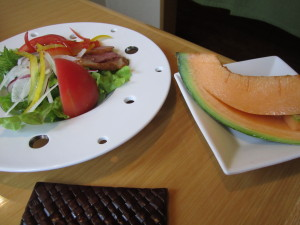 「山桜 桃の湯」さんの朝食