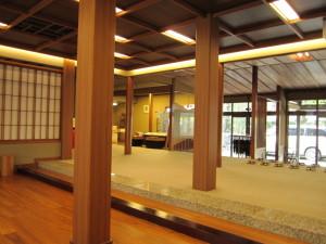 城崎温泉「三木屋」さんのロビー