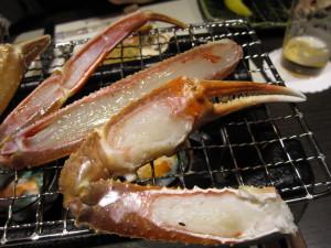 城崎温泉「三木屋」さんの夕食