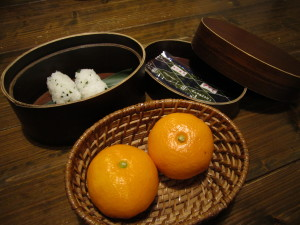 夕日ヶ浦温泉:旅館「和楽」さんの夕食