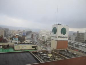 ホテルニューオータニ鳥取さんの1204号室からの眺望