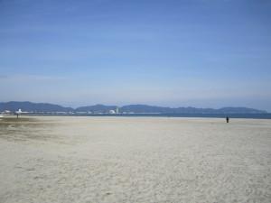 米子:弓ヶ浜海岸