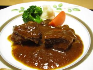 鳥取温泉:旅館「観水庭こぜにや」さんの夕食