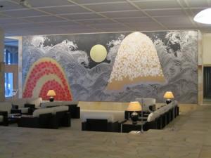 大鰐温泉:旅館「星野リゾート 界 津軽」さんのロビー