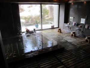 大鰐温泉:旅館「星野リゾート 界 津軽」さんの大浴場