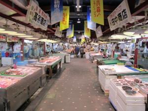 Festival City AUGAの地下にある新鮮市場