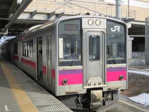 奥羽本線普通車