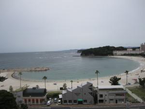 旅館:「ホテル三楽荘」さんの部屋からの眺め