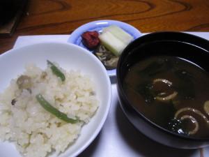 旅館:「ホテル三楽荘」さんの夕食