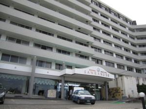 旅館:「ホテル三楽荘」さんをチェックアウト