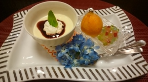 旅館:「かつうら御苑」さんの夕食