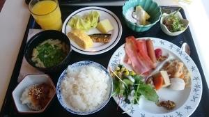 旅館:「かつうら御苑」さんの朝食