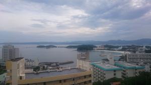 旅館:「The HOTEL しらはま温泉」さんからの眺望