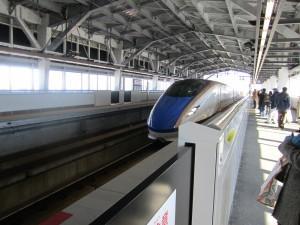 北陸新幹線 はくたか555号
